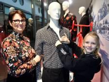 Elize (10) is de baas in de H&M op het Sint Jorisplein
