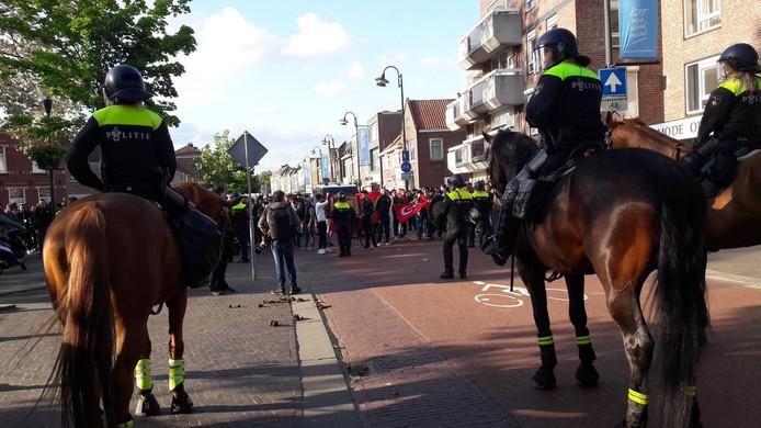 Op 26 mei mondde een demonstratie van Pegida in Eindhoven uit in geweld.