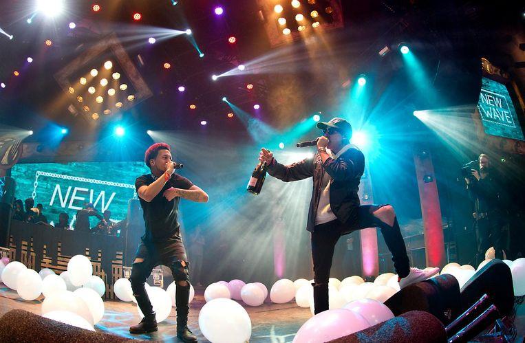 Hiphopcollectief The Wave won vorig jaar de Popprijs. Beeld anp