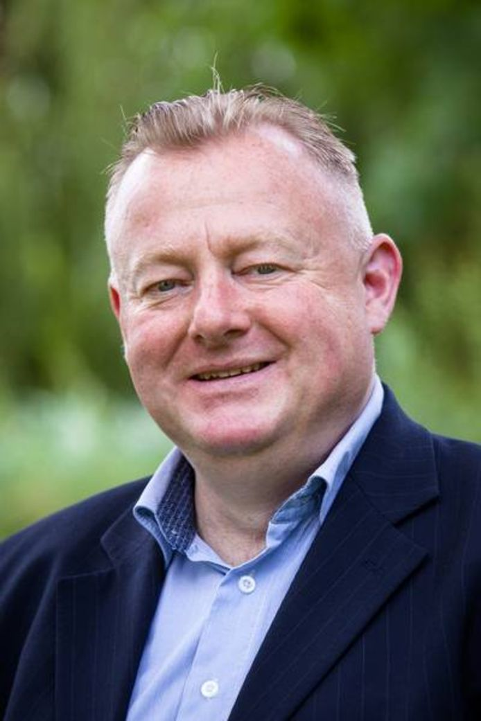 Wethouder Eric van den Broek.