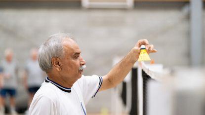 Badminton immens populair bij Bornemse senioren