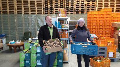 PTS doneert 750 kg groenten aan mensen in nood
