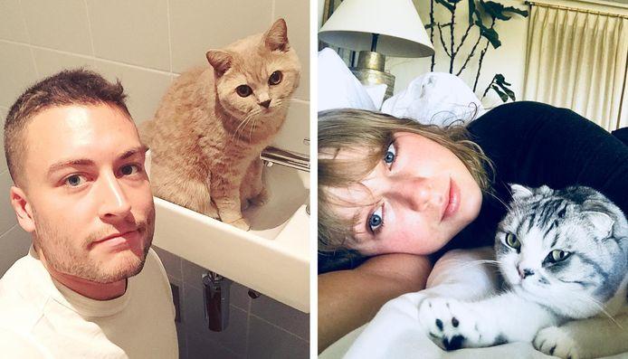 Viktor Verhulst en Taylor Swift