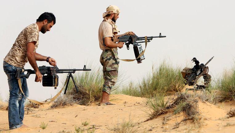 Tripoli is nu in handen van 'Libische Dageraad', een coalitie van islamitische opstandelingen.