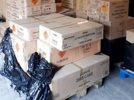 Politie vindt illegaal vuurwerk op 400 adressen in Oost-Nederland: 'Absolute koploper'