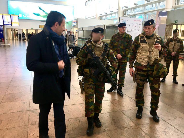 Minister van Defensie Philippe Goffin wil in de middelbare scholen starten met een richting Defensie en Veiligheid.