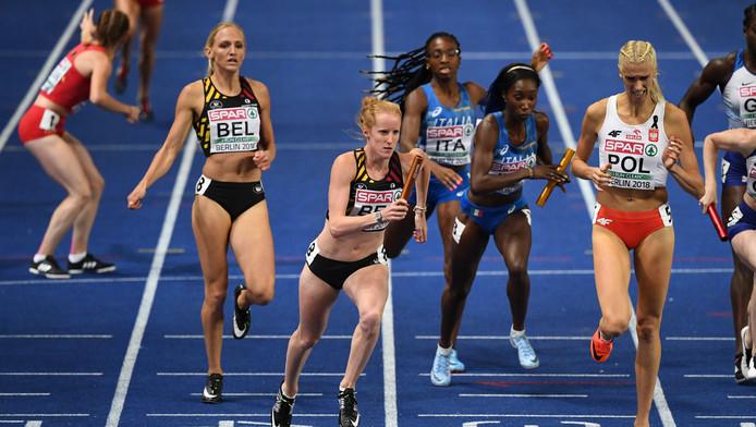 Les Cheetahs aux derniers championnats européens d'athlétisme (août 2018).