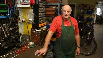 Fietsenmaker en ex-wielrenner Flup Vandenbrande (63) gaat op pensioen