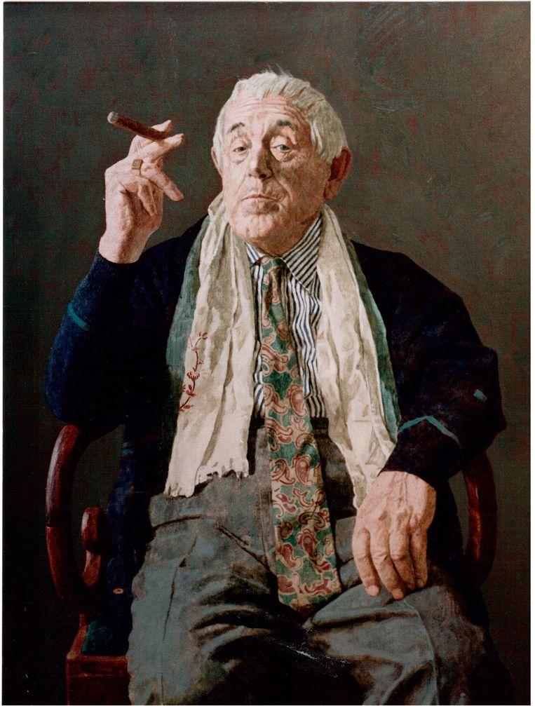De heer Fonville (olieverf op linnen), Kenne Grégoire. Beeld