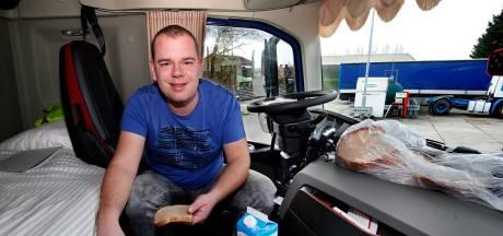Vrachtwagenchauffeur Gijs geniet elke dag van een andere menukaart