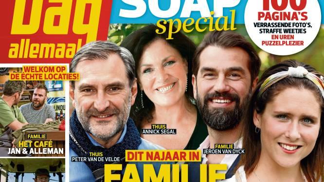 Opgelet, soapfans: de nieuwe Soapspecial ligt nu in de winkel