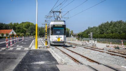 Nieuw tramtraject langs Kustweg officieel in gebruik genomen