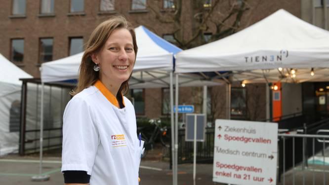 """Op stap in RZ Heilig Hart Tienen met geriater Eline Van Hove (33): """"Patiënten nu vroeger naar hun vertrouwde omgeving laten gaan is niet altijd beste oplossing"""""""