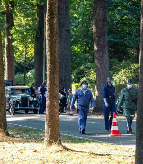 Oorlogsvoertuigen op de Bredaseweg: De Stamhouder wordt opgenomen in Tilburg