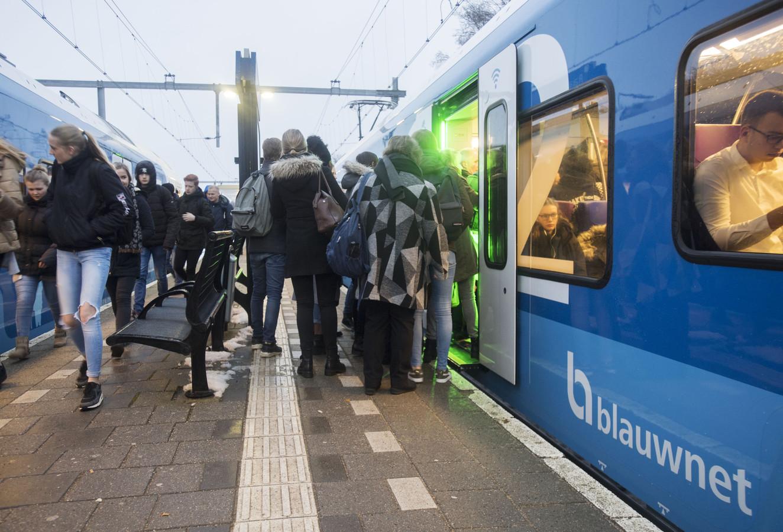 Trein van Blauwnet.