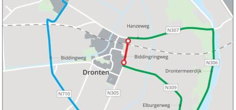 Biddingringweg bij Dronten in juni dicht
