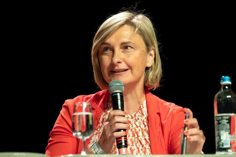 Vlaams minister van Onderwijs Hilde Crevits (CD&V) zal de grote uitdager van Bart De Wever worden bij de christendemocraten.