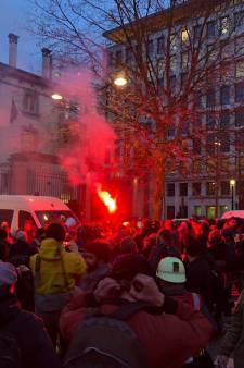 Des militants perturbent une conférence à Bruxelles: trois blessés dont deux policiers