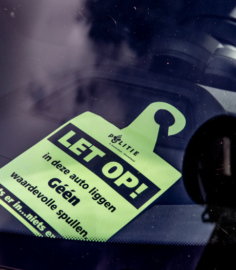 Huissen zucht onder recente golf aan auto-inbraken