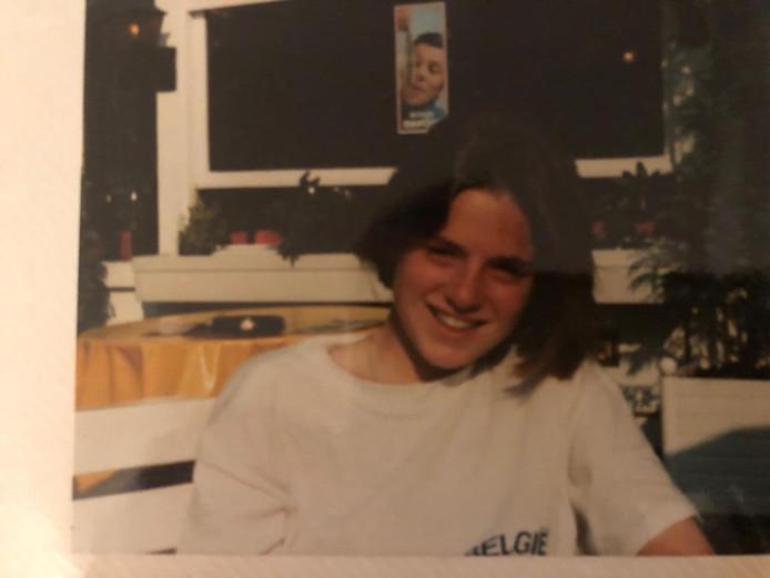 Een jeugdfoto van Miranda de Vries, tegenwoordig burgemeester van Etten-Leur.