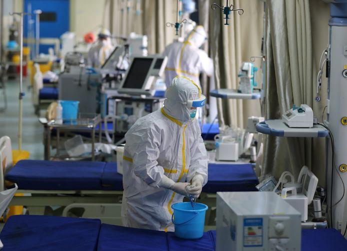 Wuhan Union ziekenhuis, in de Chinese provincie Hubei.