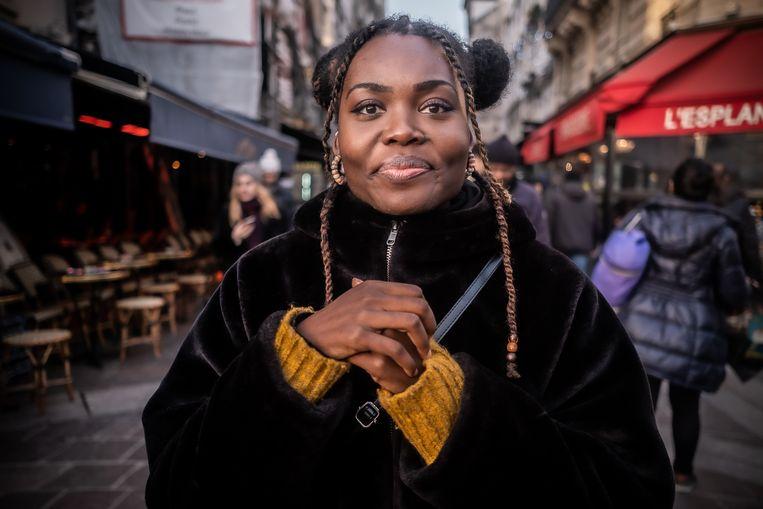 Kelly Belleu: 'Doordat de metro's niet rijden, is het lastig om op de plek van de demonstraties te komen.' Beeld Joris van Gennip