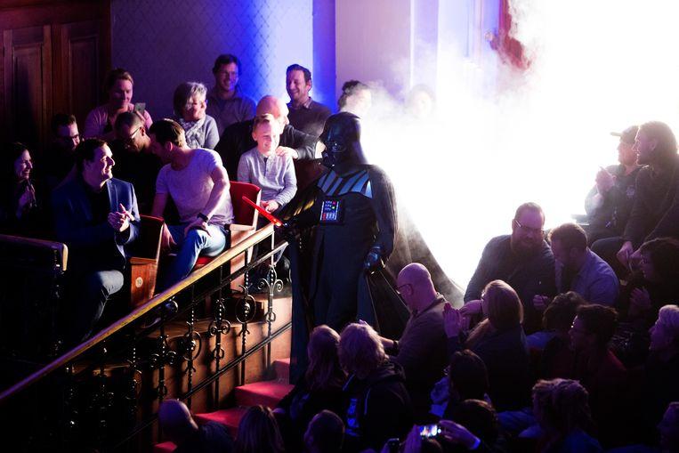 May the force be with you: er wordt Star Wars gespeeld in het Concertgebouw Beeld Elmer van der Marel