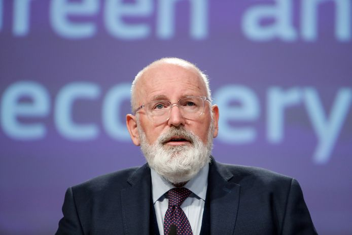 Eurocommissaris Frans Timmermans is de verantwoordelijke voor de Green Deal, het klimaatbeleid van Europa.