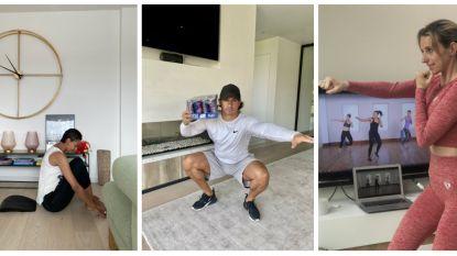 Bekende Vlamingen geven het goede voorbeeld: zo hou je het volgens experten vol om thuis te sporten