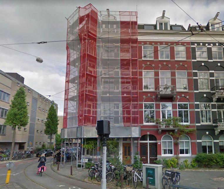Een tweekamerappartement op de tweede etage op de Plantage Parklaan kost 475.000 euro. Beeld Google Street View