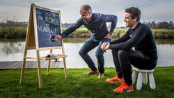 """Van Avermaet krijgt les van zijn voorbeeld en inspirator: """"Allez vooruit, leer mij maar hoe ik de Ronde win"""""""