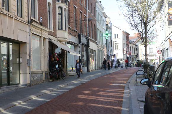 De Leuvensestraat in Tienen.