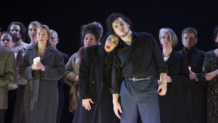 Chovanisjtsjina door de Nationale Opera. Beeld Monika Rittershaus