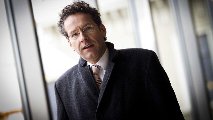 Minister Jeroen Dijsselbloem van Financien.