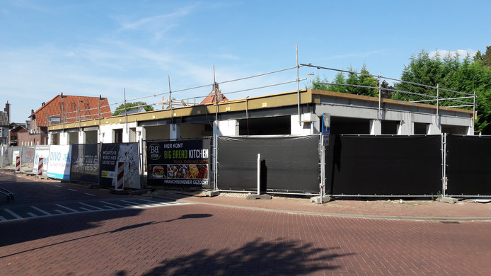Het nieuwe complex aan de Hilverstraat.