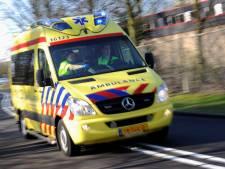 Grote schade en gewonde bij botsing A44 bij Oegstgeest