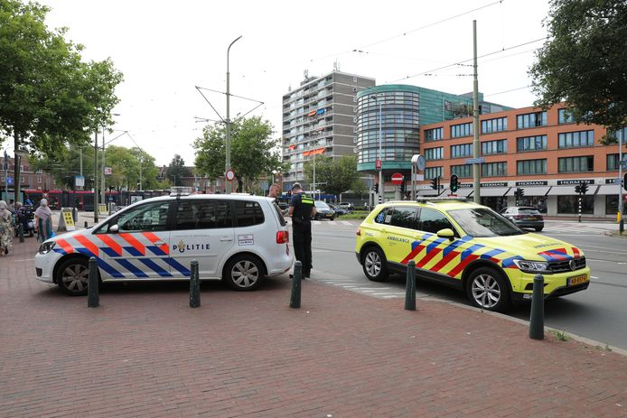 Het incident gebeurde op het Hobbemaplein.