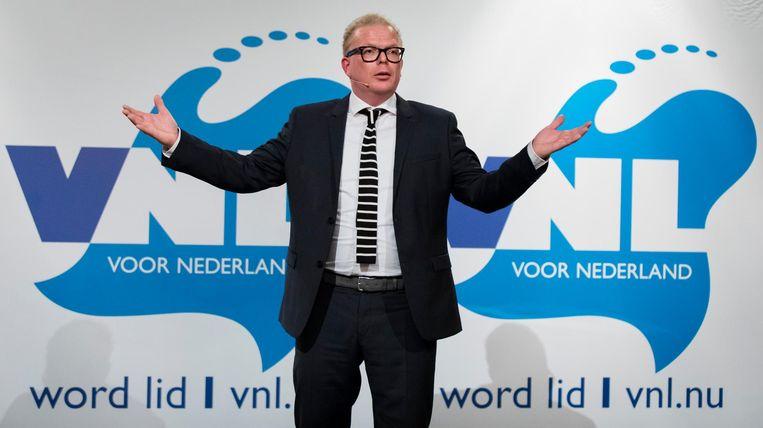 Jan Roos is op pad met VNL. Beeld anp