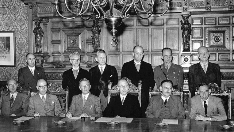 Het kabinet Beel (1946-1948). Beeld anp