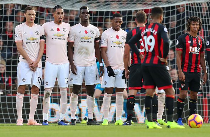 Nemanja Matic draagt als enige bij Manchester United geen klaproos op zijn shirt.