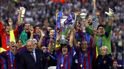 De primeur van Rijkaard in 2006. Met de groeten van een cultheld uit het Zweedse voetbal