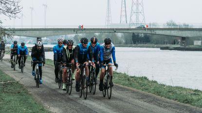 Niet voetballen maar fietsen met KRC Genk