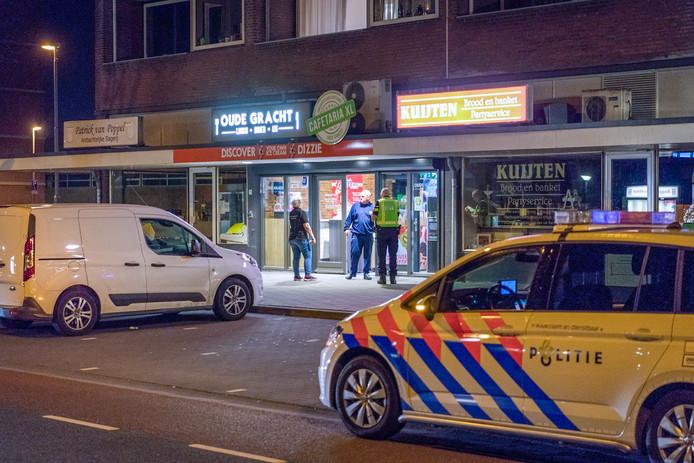 De overval op CafetariaXL in het Eindhovense Woensel op zaterdag 7 april.