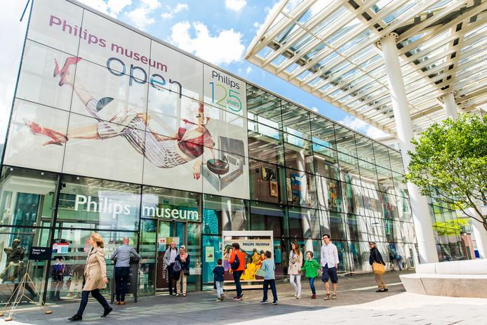 Het Philips Museum aan de Emmasingel in Eindhoven.