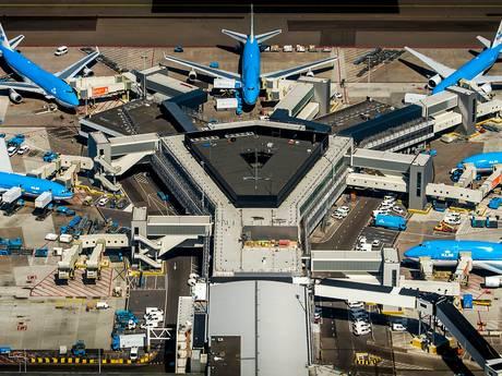 Veel meer gevaarlijke incidenten op Schiphol dan op andere luchthavens