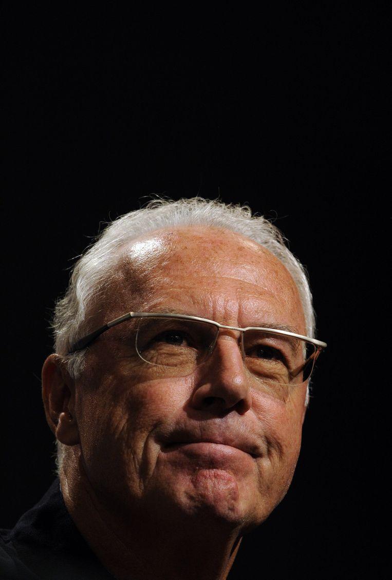 Beckenbauer. Beeld afp