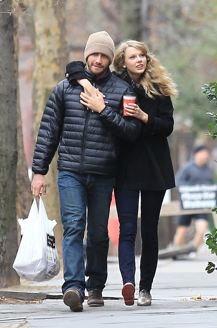 Taylor Swift en Jake Gyllenhaal als koppel in 2010.