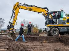 Startsein voor bouw 21 woningen op LTS-terrein Veghel
