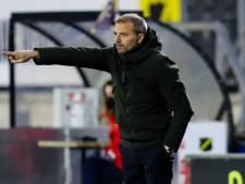 Trainer Steijn met goed gevoel de kerst in: 'Ik heb weer het NAC gezien van de eerste zes wedstrijden'