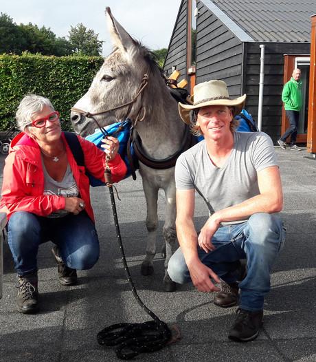 Ezel Lodewijk en Tjerk wandelen 500 kilometer